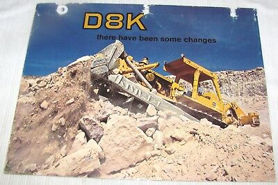 1970's--Caterpillar--Sales Brochure--D8K Track-Type Tractor--Empire Machinery Co