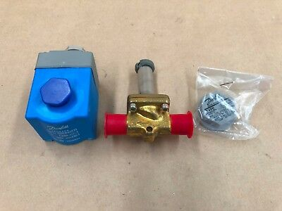 Danfoss Solenoid Valve Excl. Coil Evr 6 032F1211 6Mm Sae Flare