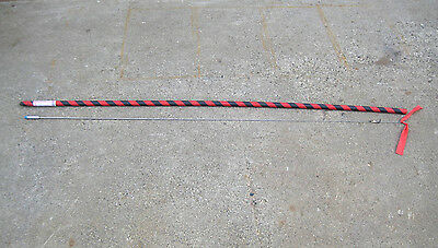 """CHP SSP Mustang police car stainless steel radio whip 66"""" antenna low band"""