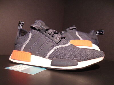 f71c9d53ff53 Adidas Nmd R1 Dark Grey Semi Solar Red Orange White Wool S31510 Ultra Boost  10