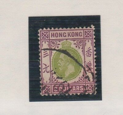 HONG KONG 122 $3.00 Geo V used 1912