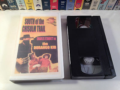 South Of The Chisholm Trail Rare Western VHS 1947 OOP HTF Charles Starrett