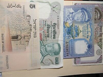 World Banknotes   4 Notes
