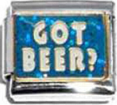 9mm Classic Size Italian Charms E42 Got Beer?