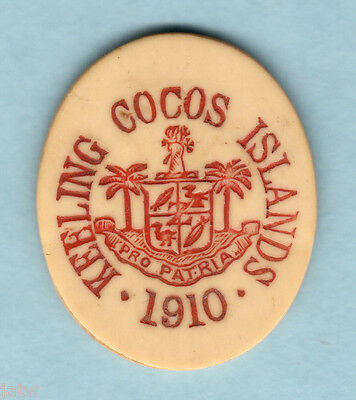 Cocos Keeling Islands. 1913 5 Cents..   gEF  -  RARE..