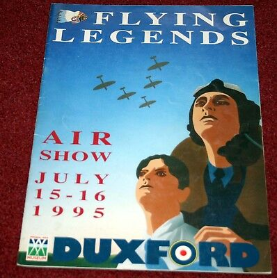 Duxford Flying Legends 1995 Airshow Programme