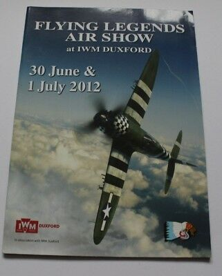 Duxford Flying Legends 2012 Airshow Programme