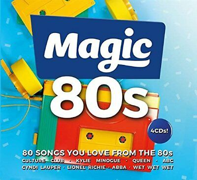 MAGIC 80s (Best Of / Greatest Hits) 4 CD Box Set (2018)