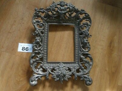 Antique Brass Cherub Frame