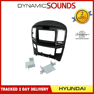 CT23HY47 Double Din Car Stereo Fascia Panel Adaptor for Hyundai H1 2015 Onwards
