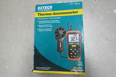 Extech AN100 Thermo-anemometer used, excellent