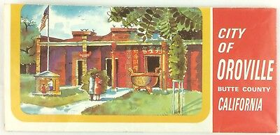 1960 s southern california vintage travel brochure illustrated map