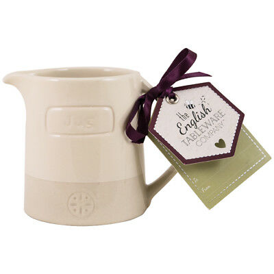 English Tableware Co. Artisan Creamer, Cream Afternoon Tea Tableware Ceramic