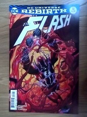 The FLASH DC Universe REBIRTH #30  2017 Dc Comic
