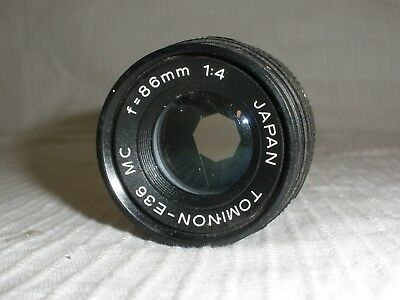 High Quality Professional Tominon Photo  86Mm/4 Enlarging Lens