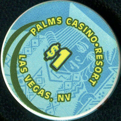 $1 Las Vegas Palms 2001 Jack 1st Edition Casino Chip - UNCIRCULATED