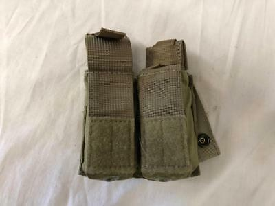 New Eagle Industries Khaki Double M9 Kydex Mag Pouch Navy SEAL NSW JSOC V.2