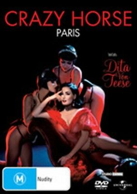 Dita Von Teese At  Crazy Horse New DVD R4 At the crazy horse