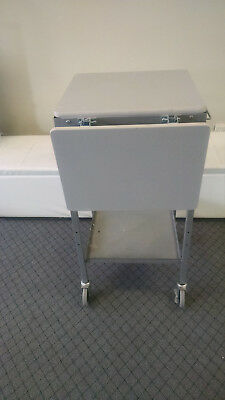 Ergo Smart Utility Table On Wheels Multi Use Table Adjustable Sides Excellent
