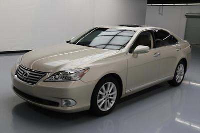 2012 Lexus ES 350 Base Sedan 4-Door 2012 LEXUS ES350 CLIMATE SEATS SUNROOF NAV REAR CAM 43K #482320 Texas Direct