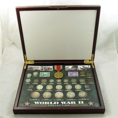 American Historic Society World War II Collection - Silver Coins, Medal & More