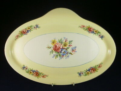 Barratts Yellow Floral Sandwich Tray