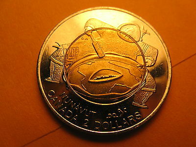 Canada 1999 $2 Coin Nunavut Territory Creation.canada's Map Changed