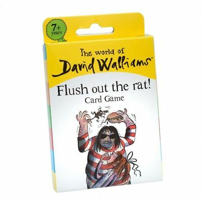 The World of David Walliams Flush Out the Rat Card Game