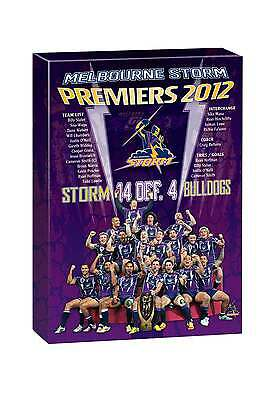 NRL TEAM Melbourne Storm Past Premiers Player Image Canvas Christmas Father Gift