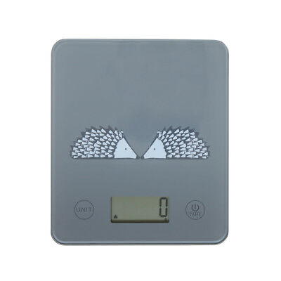 Scion Spike Grey Electronic Scales Kitchen Measuring Weighing Stylish Fun