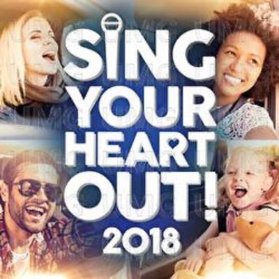SING YOUR HEART OUT 2018 (Various Artists) 2 CD SET (2018)