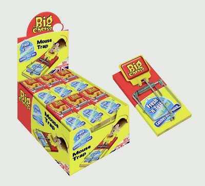 The Big Cheese Fresh Baited Mouse Trap Pack 30