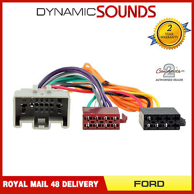 CT20LR04 Car Stereo Radio ISO Wiring Harness Adaptor For Ford Fiesta 2008-2010
