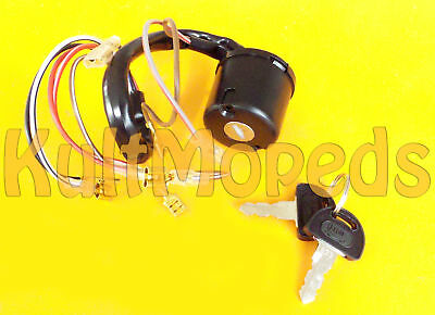 Ignition Pas. for Simson SR50 SR80 Ignition Lighting Switch 8 Cable Key Lock