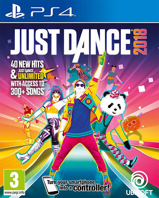 Just Dance 2018 (PS4)  BRAND NEW AND SEALED - IN STOCK - QUICK DISPATCH - IMPORT