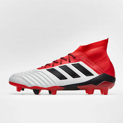 7509281c476f4 ADIDAS MENS PREDATOR 18.1 Firm Ground Football Boots Trainers Sports Shoes  White