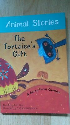 The tortoise's gift: Story from Zambia Barefoot books multicultural tales Animal