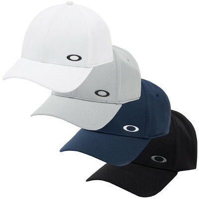 Oakley Sport Mens 2018 Silicon Ellipse Cap Stretch Fit Flexible 35% OFF RRP