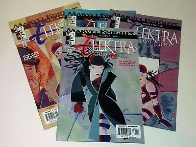 Elektra Glimpse and Echo complete four issue series 1 2 3 4 Marvel Comics