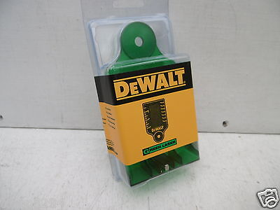 Dewalt Green Beam  Laser Level Target Card De0730G