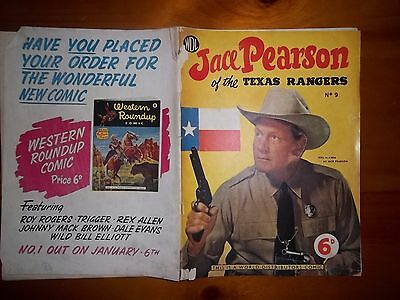 British WDL Comic Jace Pearson Texas Rangers copyright 1953