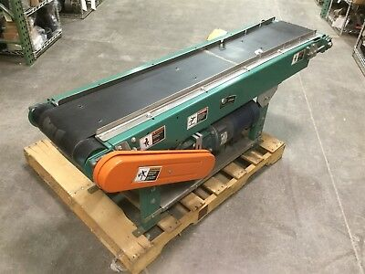 "ACS LPB Powered Slider PVC Belt Conveyor 12""x 5' 36ft/Min Medium Duty 115V 15A"