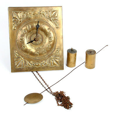 Arts and Crafts Brass Wall Clock Fivemiletown John Williams Pearson Interest