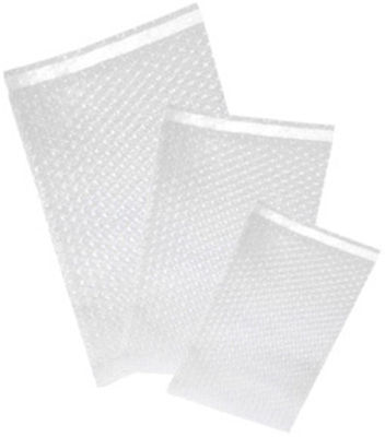 "100 - Uneekmailers 8x11.5 Bubble Out Self Sealing Pouches Wrap Bags Clear 8""x11"""