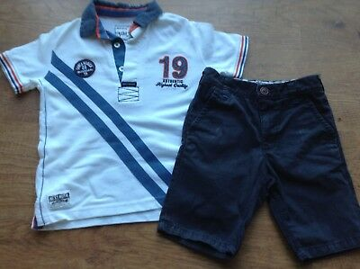 100%   Next  Boys Small Bundle / Outfit 5Yrs Top Shorts