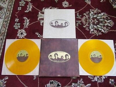 Beatles 1977 YELLOW VINYL LOVE SONGS 2 LP SET NM! CANADIAN ISSUE W BOOKLET