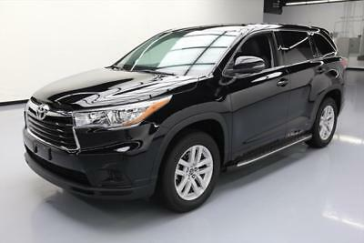 2016 Toyota Highlander  2016 TOYOTA HIGHLANDER LE 8PASS REAR CAM BLUEOOTH 7K MI #172337 Texas Direct