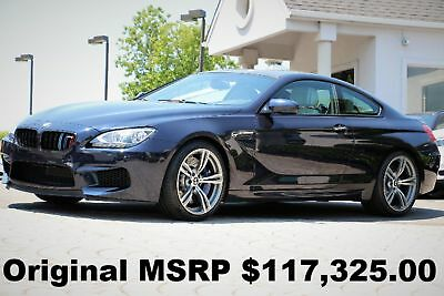 """2014 BMW M6 Coupe 2014 20"""" M Wheels Executive PKG Imperial Blue Metallic M DCT Auto Like New"""