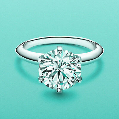 Women's Classical 2 Carat Simulated Diamond Wedding Bridal Engagement Ring R165