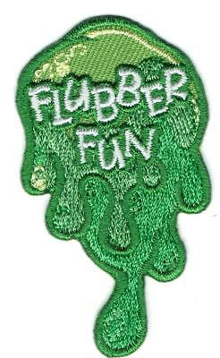 Girl Boy Cub FLUBBER FUN Making Ooze Patches Crests Badges SCOUT GUIDE Cooking